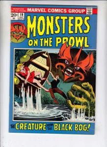 Monsters on the Prowl #19 (Oct-72) VF/NM High-Grade