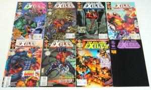 All New Exiles #∞ & 1-11 VF/NM complete series - ultraverse - juggernaut set lot