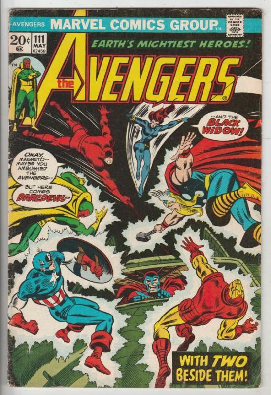 Avengers, The #111 (May-73) FN+ Mid-High-Grade Avengers