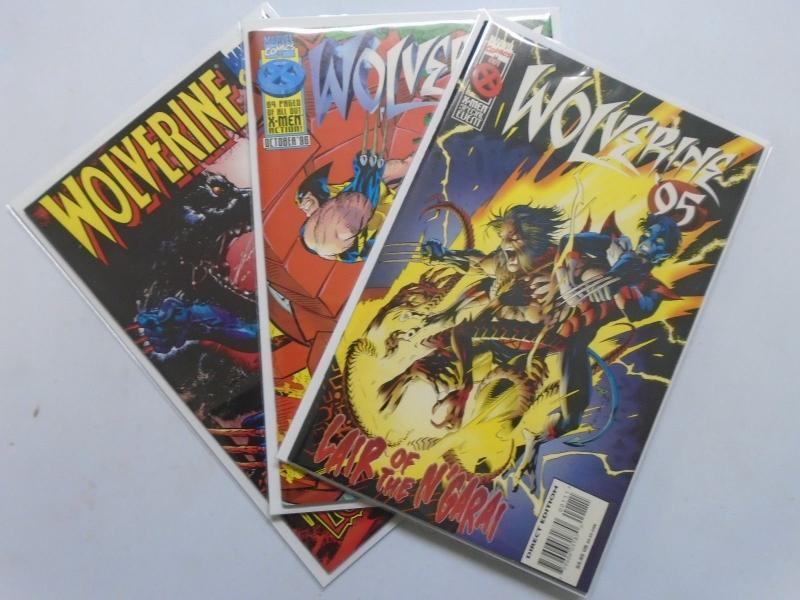 Wolverine (1988 1st Series) Annual #1995-1997 - NM - 1995-1997