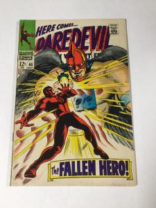 Daredevil 40 6.0 Fn Fine Marvel Silver Age