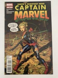 Captain Marvel 4 11/12 Earth's Mightiest Hero Ms Marvel Carol Danvers NM