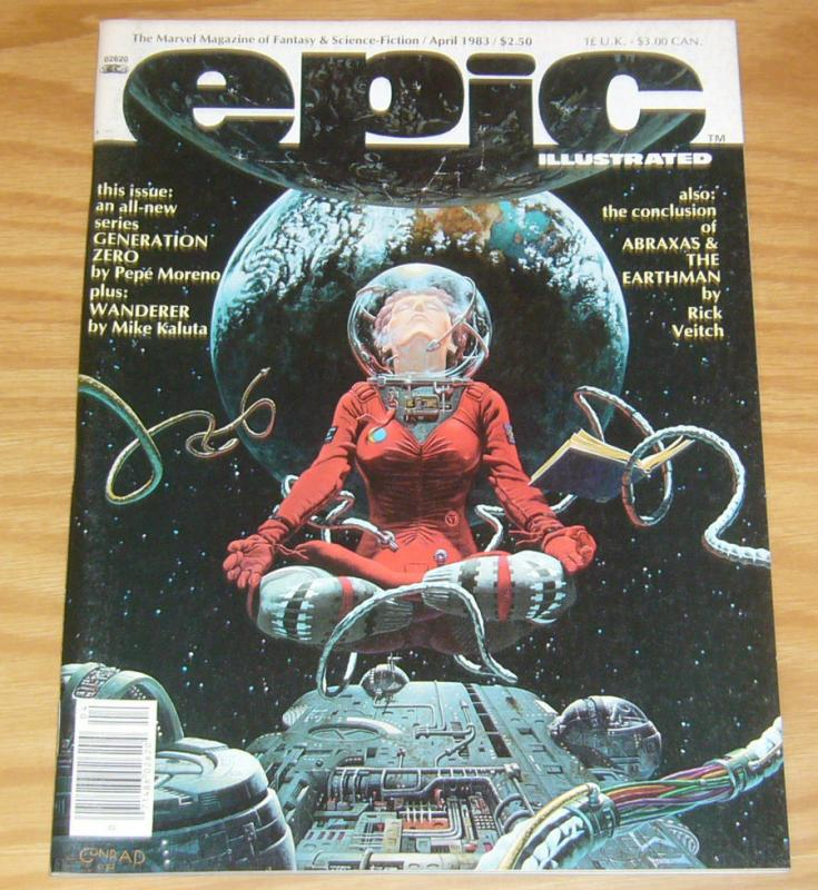 Epic Illustrated #17 VF mike kaluta - grimm fairy tales - rick veitch - simonson