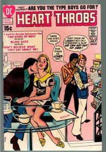 HEART THROBS #132 1971 DC-ROMANCE-VF-NICE COPY VF