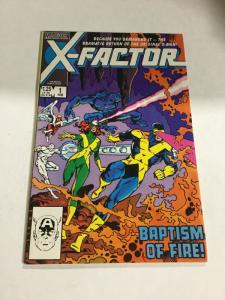 X-Factor 1 Fn/Vf Fine/Very Fine 7.0 Marvel