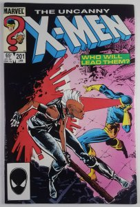 The Uncanny X-Men #201 - 1st Cable as Baby Nathan - NM - Marvel Comics 1986
