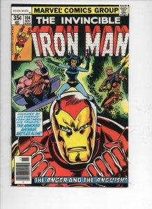 IRON MAN #104, FN/VF Tony Stark, Tuska, Triad, 1968 1977, more IM in store