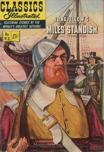 Classics Illustrated (Gilberton) #92 VG; Gilberton   low grade comic - save on s