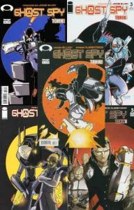 GHOST SPY (2004 IM) 1-5  complete series!