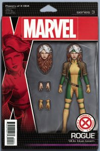 Powers Of X #4 Action Figure Variant Comic Book (Marvel, 2019) NM