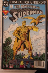 Adventures of Superman 499 VF