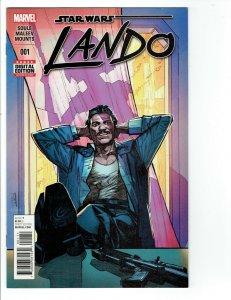 STAR WARS LANDO #1 1st Solo Lando Comic Series! NM. Tv Show Coming!