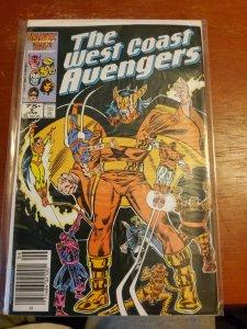 West Coast Avengers #9 (1986)