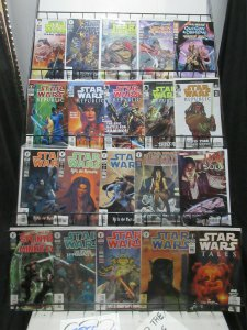 Star Wars Comics Mini-Library Dark Horse to Marvel Mini-Library Lot of 31Diff C