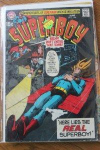Superboy #166 (DC 1970) VG