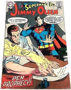 JIMMY OLSEN#129 VG1970 DC BRONZE AGE COMICS
