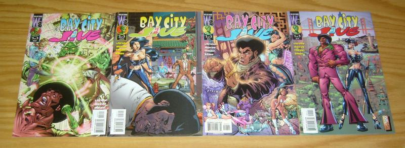 Bay City Jive #1-3 VF/NM complete series + j. scott campbell variant - layman