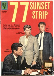 77 SUNSET STRIP-FOUR COLOR #1291-DELL-1962-EFREM ZIMBALIST JR