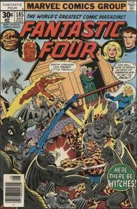 Marvel FANTASTIC FOUR (1961 Series) #185 FN-