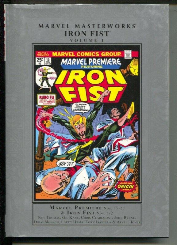Marvel Masterworks Iron Fist-Roy Thomas-Vol 1-2011-HC-VG/FN