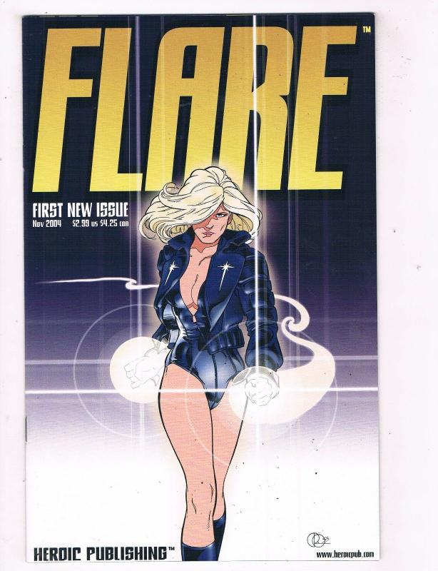 Flare #1 VF/NM Hero Publishing Comic Book Nov 2004 DE41 AD18