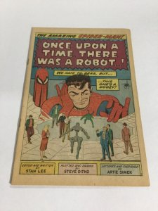 Amazing Spider-Man 37 Coverless Marvel Silver Age