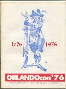 Orlando ComiCon Program Book 1976-Jack Davis-Harvey Kurtzman-Floyd Gottfredson-V