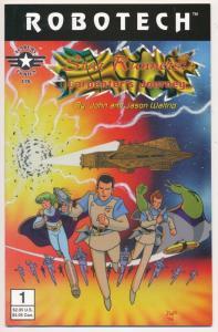 ROBOTECH Star Runners: Carpenters Journey Academy Comics Ltd. 1996 ~ NM- (PF280)