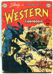 Western Comics #9 1949- Wyoming Kid- Nighthawk- Cowboy Marshall G