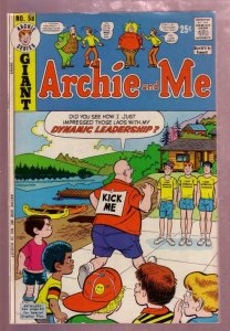 ARCHIE AND ME #58 1973 MR WEATHERBEE PRANK  COVER VG/FN
