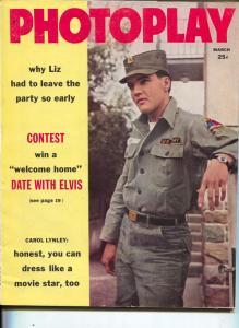 Photoplay-Elvis Presley-Jerry Lewis-Yul Brynner-Fabian-Debbie Reynolds-March-196