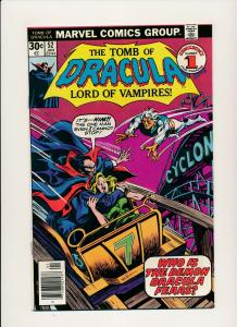 Marvel The Tomb of DRACULA #52 Jan 1977 F/VF (PF767)