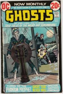 Ghosts #9 (Nov-72) VF High-Grade