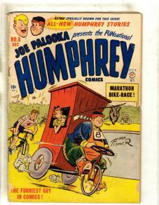 Joe Palooka # 8 VG Harvey Golden Age Comic Book Ham Fisher Cover Art 1949 JK1