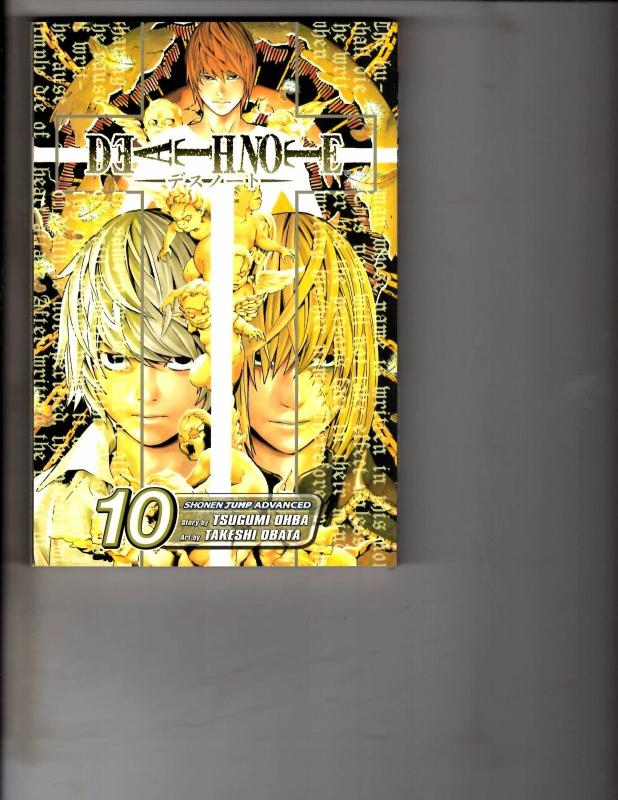 Death Note Vol. # 10 Shonen Jump Advanced Viz Media Manga Comic Book Anime AB1