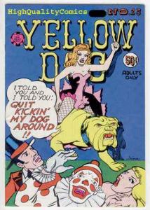YELLOW DOG COMICS 25, FN+ to VF, Underground, 1st, 1973, Trina Robbins