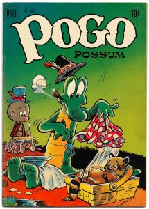 POGO POSSUM #7 (Oct 1951) 5.0 VG/FN Walt Kelly's Famed Creation - 36 pgs of fun!