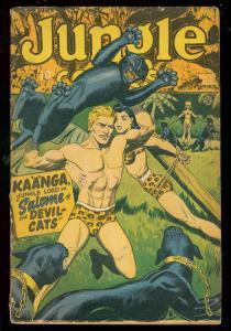 JUNGLE COMICS #80 1946-KAANGA-SPICY GOOD GIRL ART-TABU VG
