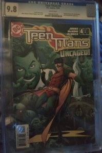 Teen Titans #4 9.8 CGC KEY 1st appearance of Bart Allen as Kid Flash (impulse)