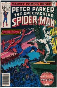 PETER PARKER 10 VG-F September 1977