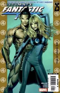 Ultimate Fantastic Four #25, NM (Stock photo)