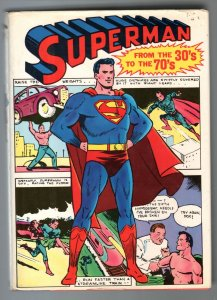Superman From The 30's To The 70's-Hardcover-1971