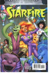 Starfire 10  Amanda Connor Cover   9.0 (our highest grade)