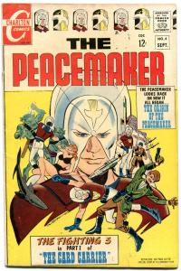 THE PEACEMAKER #4 1967-ORIGIN ISSUE VG/FN