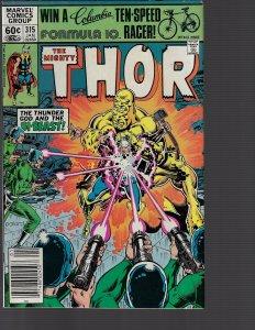Thor #315 (Marvel, 1981) FN+