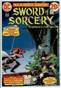 SWORD of SORCERY #1, FN+, Fafrhd, GrayMouser, Neal Adams, more Horror in store