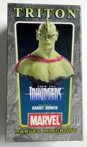 Marvel Inhuman Triton Mini-Bust Randy Bowen 2004