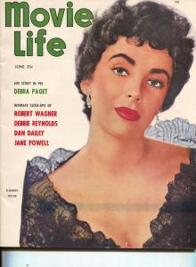 Movie Life-Liz Taylor-Marilyn Monroe-Betty Grable-John Wayne-Marlon Brando-June-