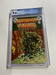 Swamp Thing 9 Cgc 9.6 Ow/w Pages Dc Bronze Age 2042366008