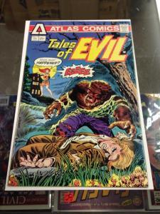 Tales of Evil 1 Near Mint- Bronze age Horror Larry Lieber (Atlas Feb. 1975)